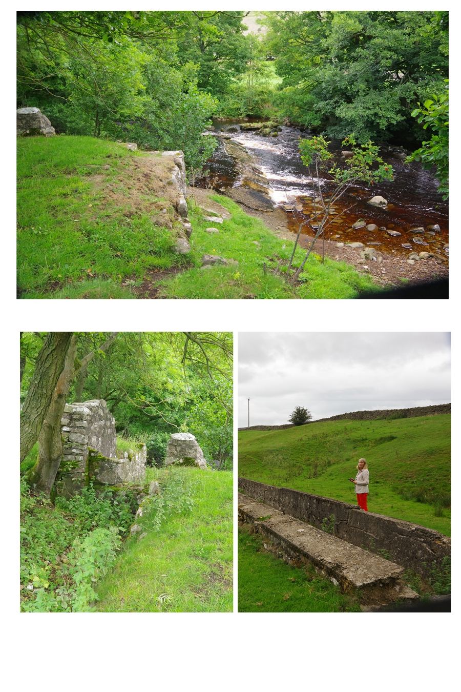 Reeth Mill weir leat composite